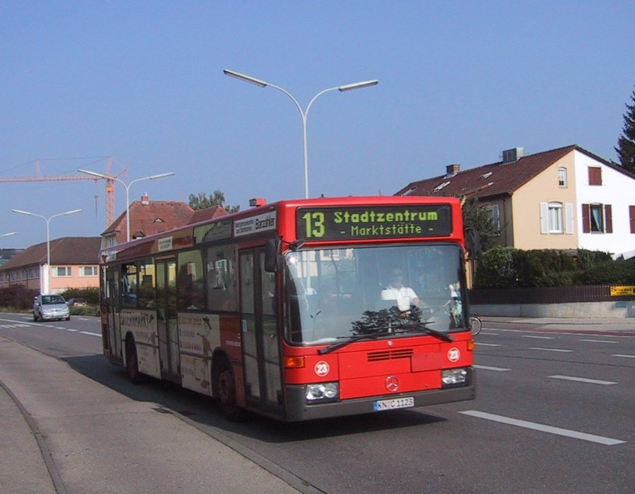 Linienbusse for Depot konstanz